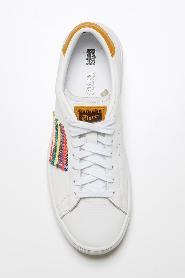Collaboration with Onitsuka Tiger